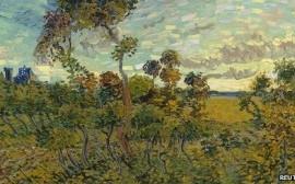 Sunset at Montmajour- Vincent Van Gogh