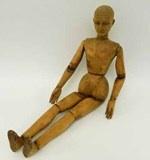 Rare artists' mannequin found